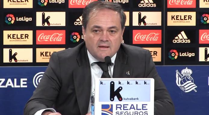 皇家社会主席:伊尼戈为什么不选择个能踢欧冠的球队?