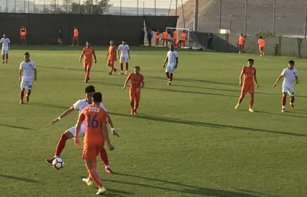 热身赛:塔神助攻西塞破门,鲁能1-0辽足