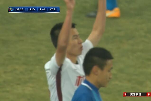 GIF:接二连三!莫德斯特孙可接连进球,权健3-0
