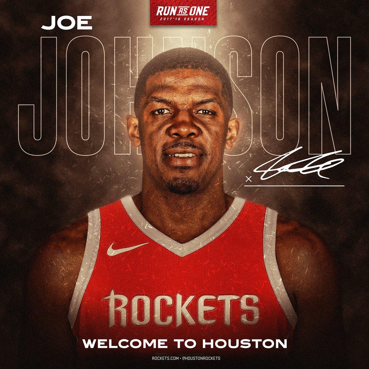 官方:火箭签下约翰逊,后者身穿7号球衣