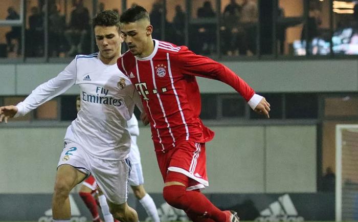 拜仁U19青年欧冠2-3不敌皇马,无缘下一轮
