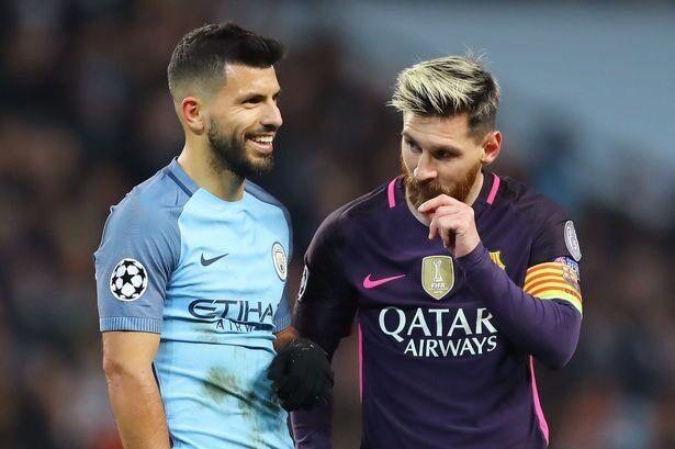 阿圭罗:梅西有能力三次触球就进三个球,是世界最佳