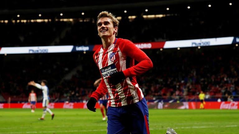 GIF:格列兹曼进球,马德里竞技1-0莱加内斯