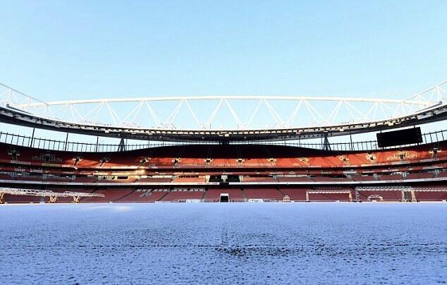 天气恶劣,阿森纳与曼城比赛或将延期