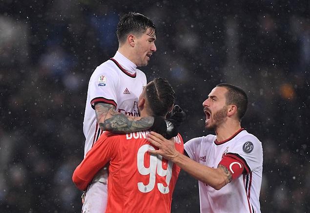 意大利杯:唐纳鲁马两扑点,AC米兰点球大战5-4淘汰拉齐奥