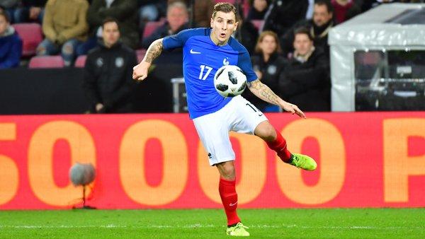 迪涅:法国队左后卫竞争激烈,我需要把握住每次集训机会