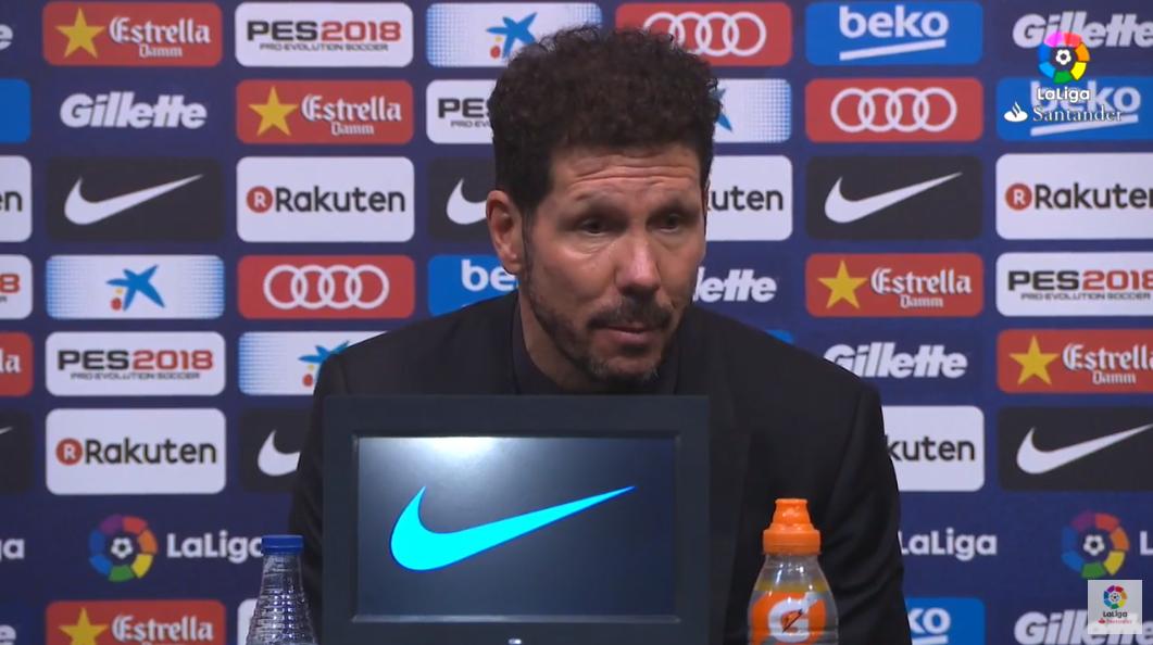 西蒙尼:如果梅西穿着马竞球衣,赢球的就是我们