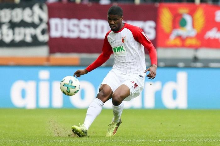 官方:奥格斯堡中卫丹索将因伤缺席数周