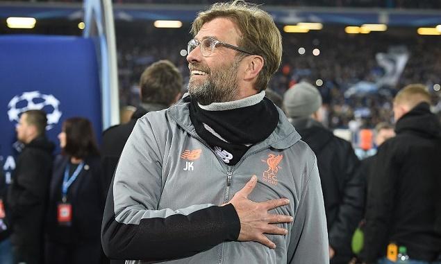 克洛普:欧冠是展现利物浦进步的绝佳舞台
