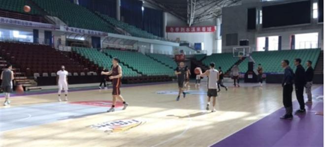 CBA公司检查辽宁省体育馆,各设施均符合标准