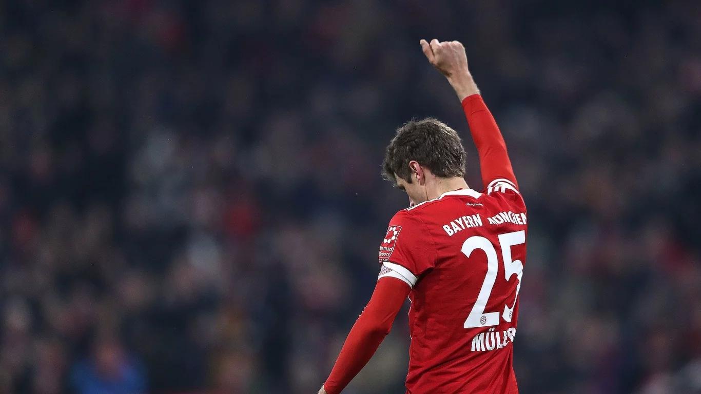 拜仁慕尼黑官网_官方:穆勒当选拜仁慕尼黑二月最佳球员_虎扑国际足球新闻