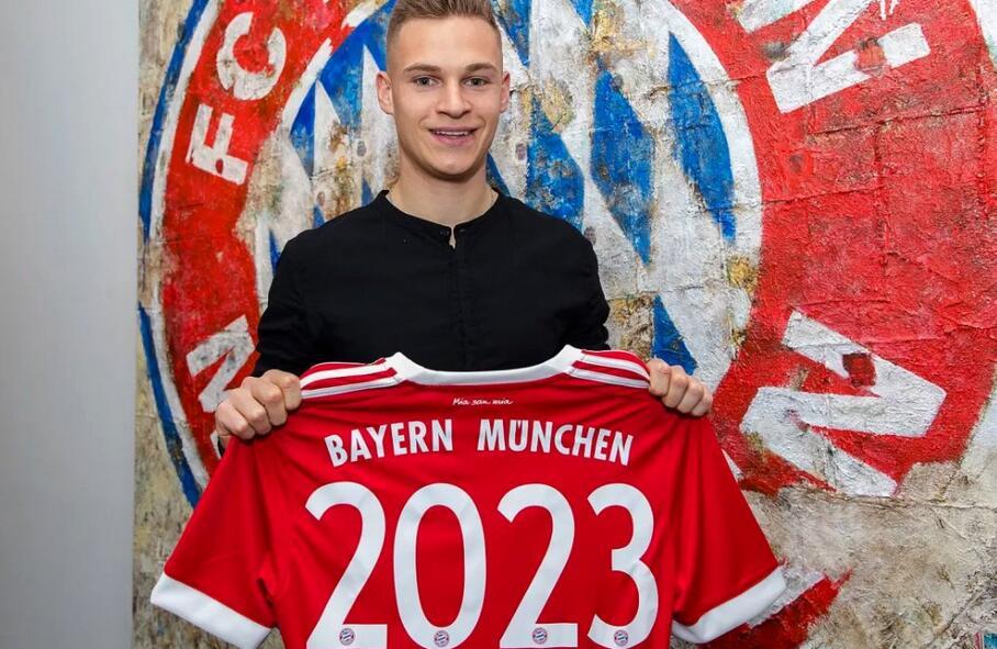 拜仁慕尼黑官网_官方:拜仁慕尼黑与基米希续约至2023年_虎扑国际足球新闻