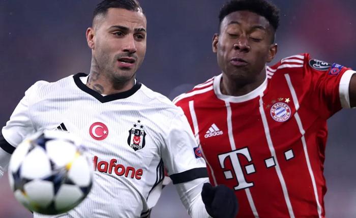 贝西克塔斯vs拜仁数据前瞻:拜仁对土耳其球队不败