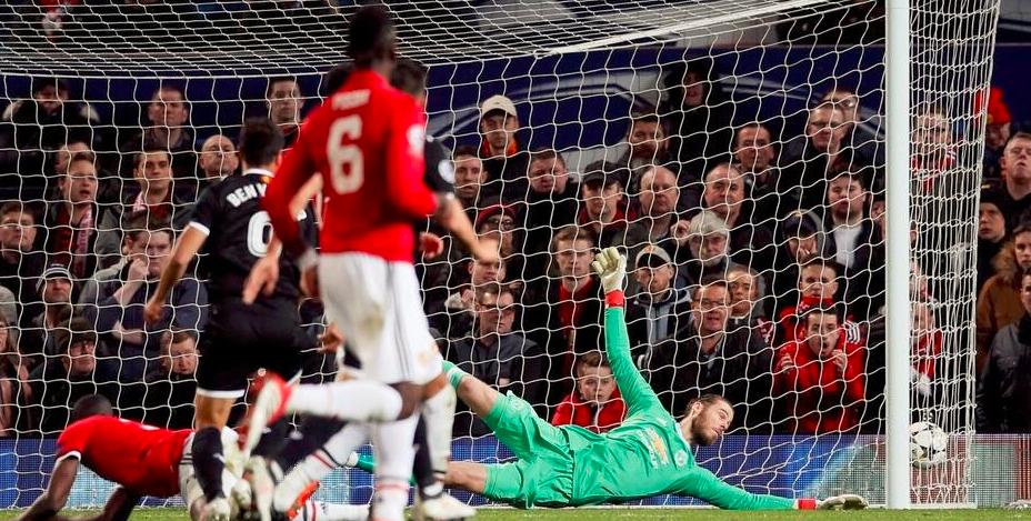 卢卡库破门难救主,曼联4分钟失2球1-2塞维利亚欧冠出局