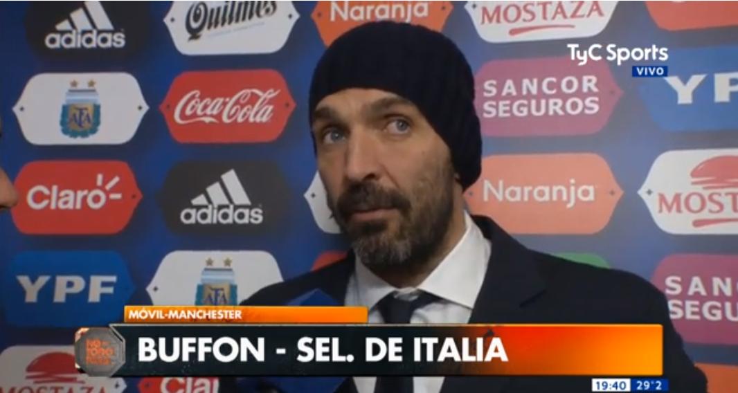 布冯:我很开心看到阿根廷没有征召迪巴拉