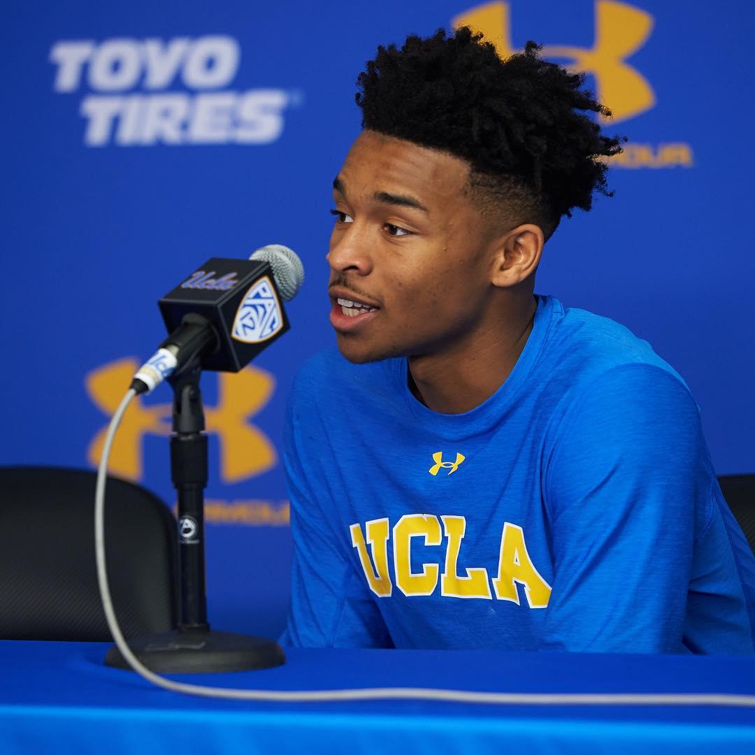 UCLA后卫杰伦-汉兹将试水选秀