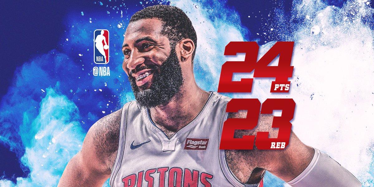 NBA官方评选出今日最佳数据:德拉蒙德24+23当选
