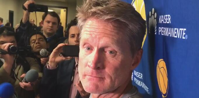 科尔:库克的表现没让我们感到意外,他做得不错