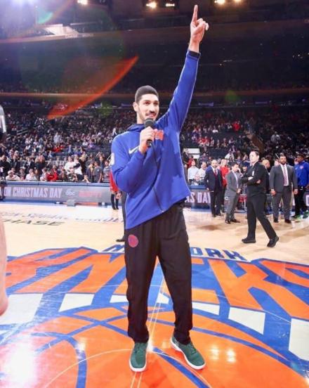 坎特感谢纽约球迷:你们永远是球队的第六人