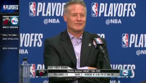 布朗:我感觉我们这支球队有一些不同寻常之处