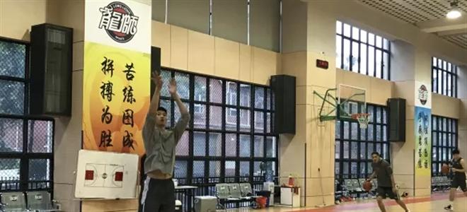 广州队结束休假,全体成员集结合练