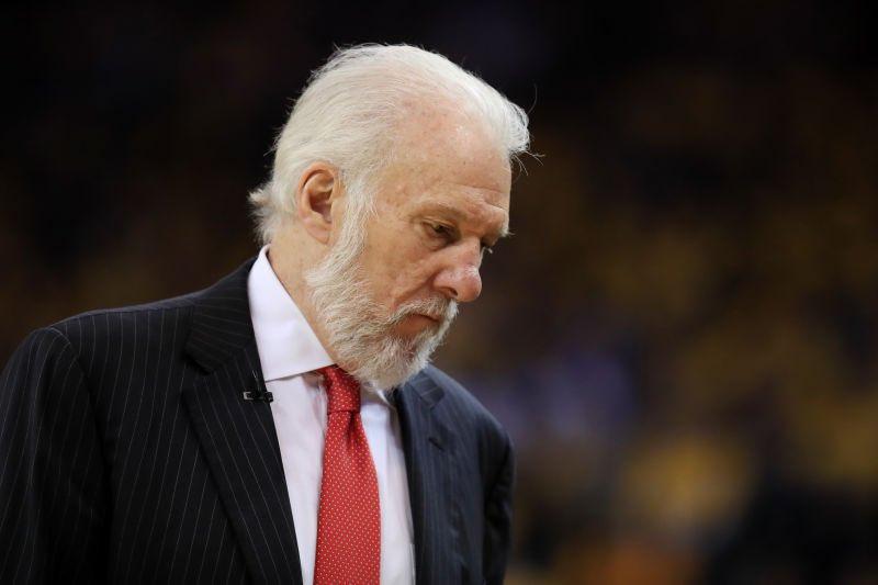 NBA官方:真挚的慰问送给波波维奇的家庭
