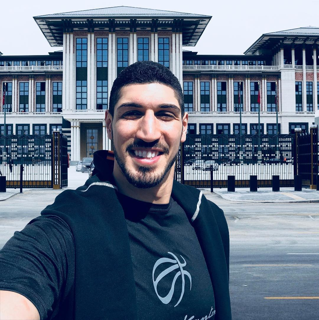 回到土耳其!坎特发布自己在首都安卡拉的照片