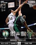 NBA官方发布今日4支获胜球队的赢球图集
