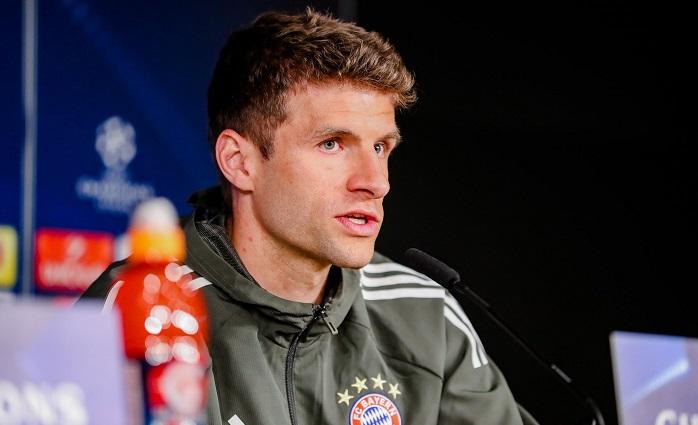 穆勒:拜仁去年被两个越位进球淘汰;莱万的实力毋庸置疑