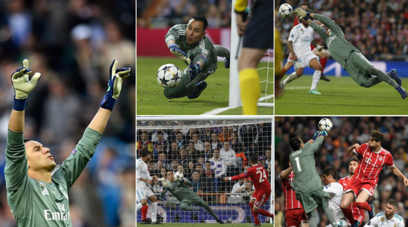 8次扑救拯救球队,纳瓦斯出色发挥助皇马晋级决赛