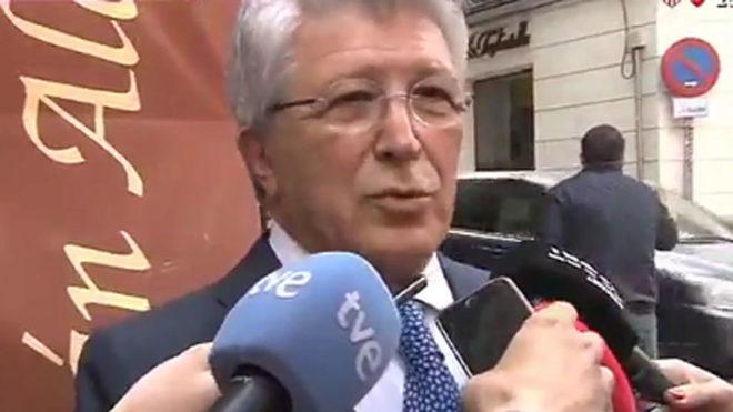 马竞主席:马德里双雄争夺欧超杯?我愿意啊