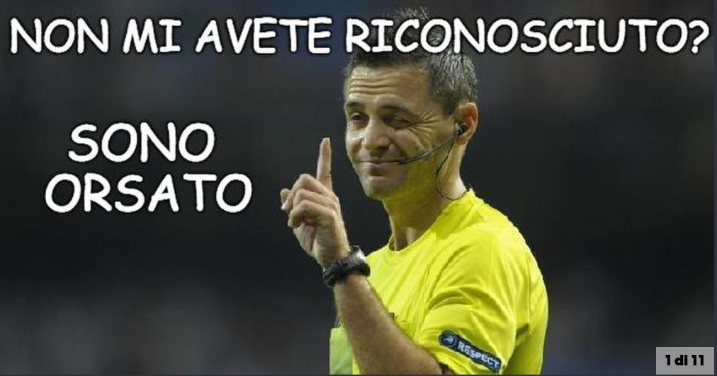 罗马体育报讽刺主裁判:你是奥尔萨托吧!