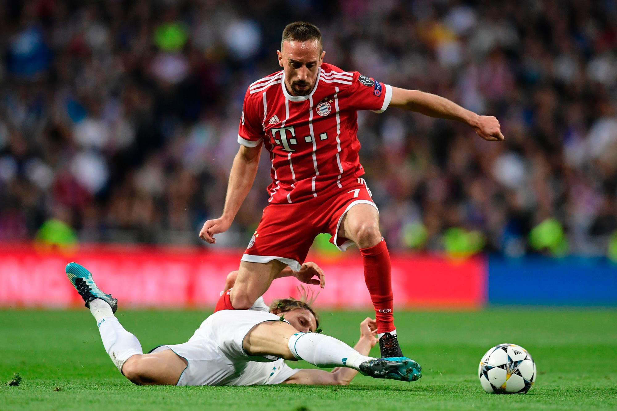 里贝里:欧冠挫折会让球队坚定夺取德国杯的信心