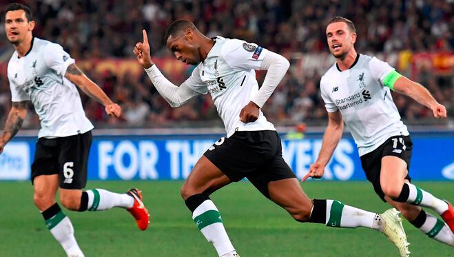 马内破门裁判判罚惹争议,利物浦客场2-4罗马总比分7-6进决赛