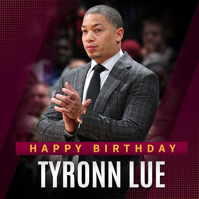 NBA教练协会官方发图祝贺泰伦-卢41岁生日快乐