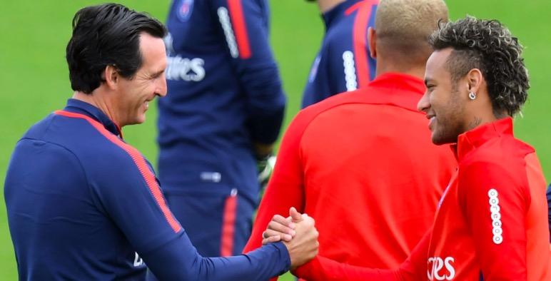 埃梅里:巴黎领袖就是内马尔,我的首要任务是让他开心