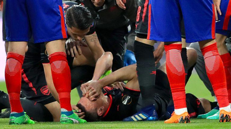 天空体育:科斯切尔尼跟腱撕裂,无缘世界杯