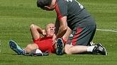 罗本因大腿伤势中断训练,或无缘对阵斯图加特
