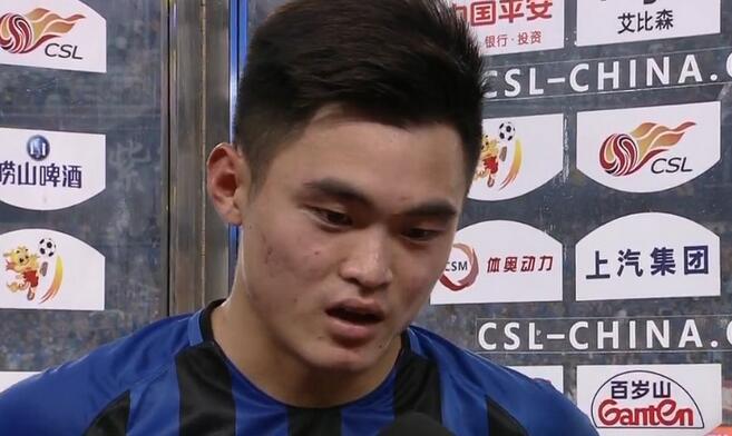 黄紫昌:进球体现战术的成功,下一场对上港只想获胜