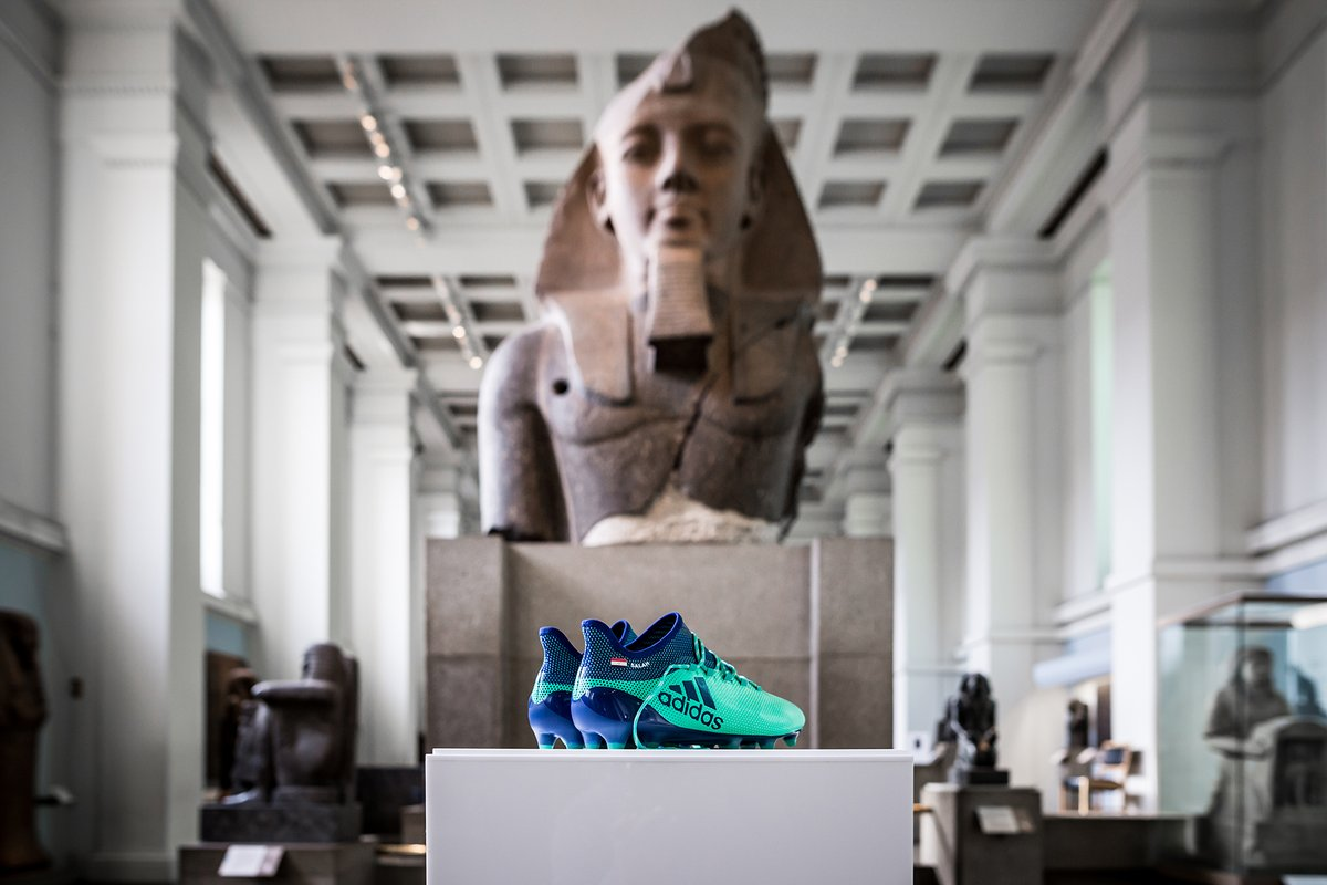 荣耀时刻,萨拉赫战靴将在大英博物馆古埃及馆展出