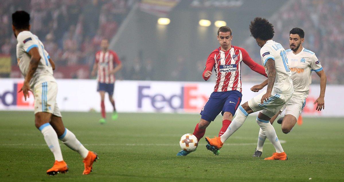 GIF:格列兹曼破门,马德里竞技取得领先