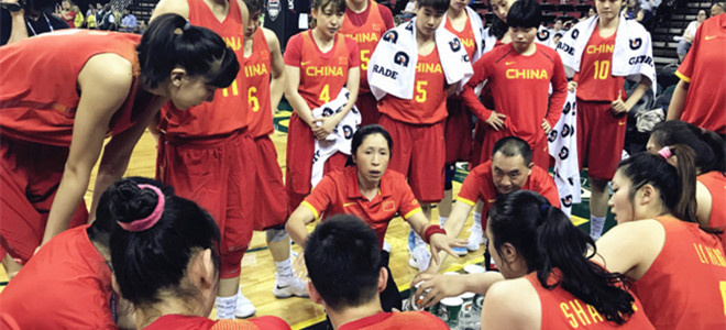 中国女篮2018年具体热身赛程公布