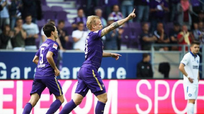 德乙保级附加战:奥厄3-1击败卡鲁保级成功