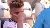 本特纳比赛中伤退落泪,恐无缘世界杯
