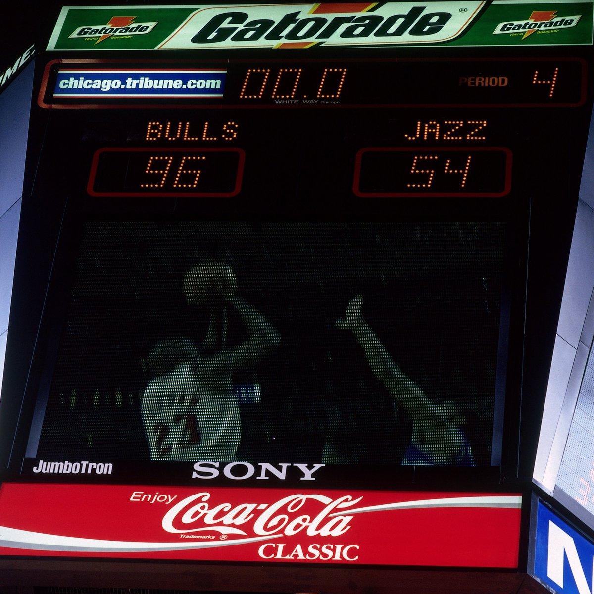 总决赛单场最大分差:公牛1998年单场狂胜爵士42分