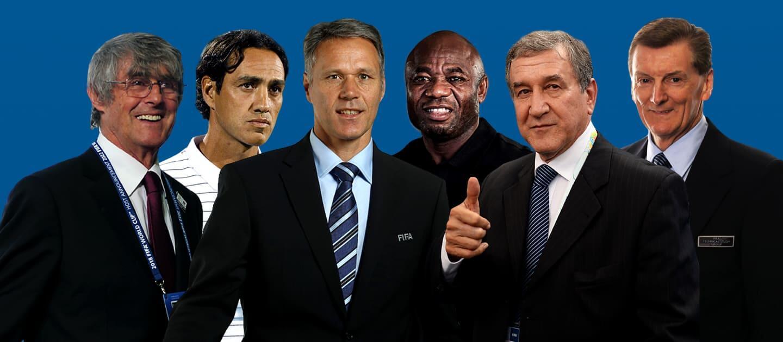 世界杯技术研究委员会名单:米卢、范巴斯滕、内斯塔入选