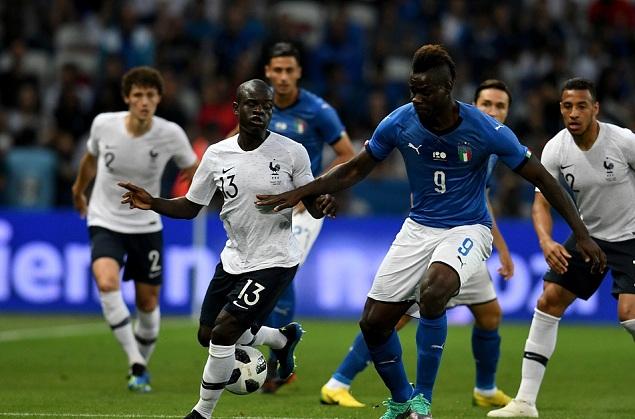 热身赛:小登贝莱破门格列兹曼点射,法国3-1意大利