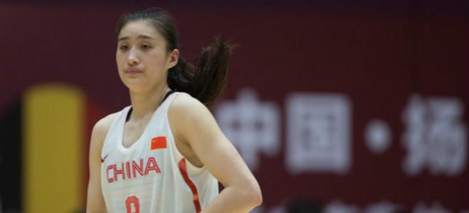王雪朦20分,中国女篮热身赛轻取比利时