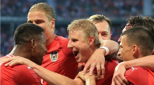 厄齐尔破门,德国1-2不敌奥地利