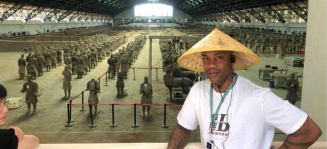 马布里参观兵马俑:中国文化太了不起了